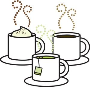 Hot beverage clipart.