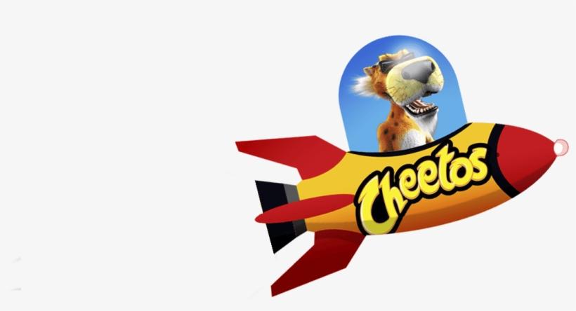Cheetos Flaming Hot Cheeteorites Logo.