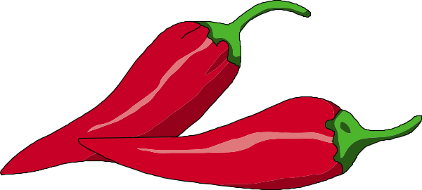 Hot chili clipart.