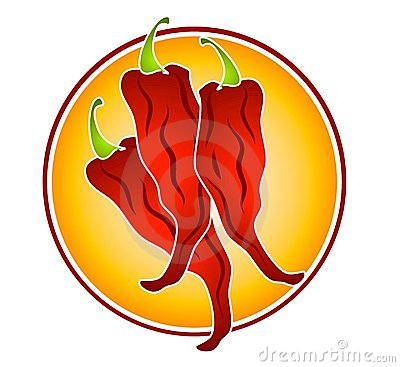 Red Hot Chilli Peppers Clipart.