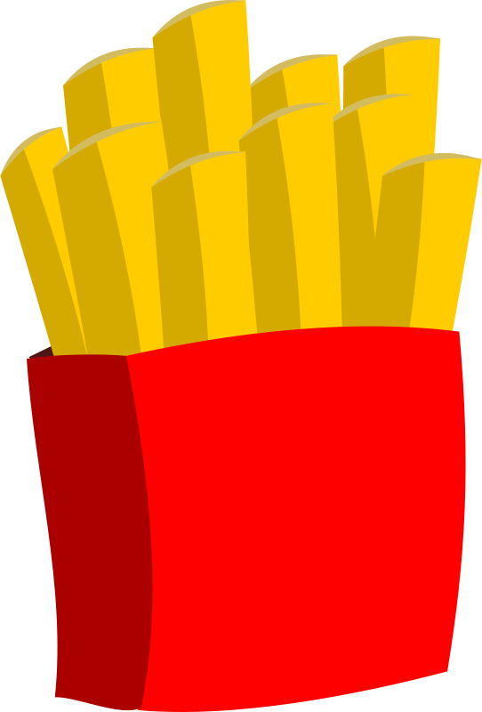 Free Clipart: Hot chips.
