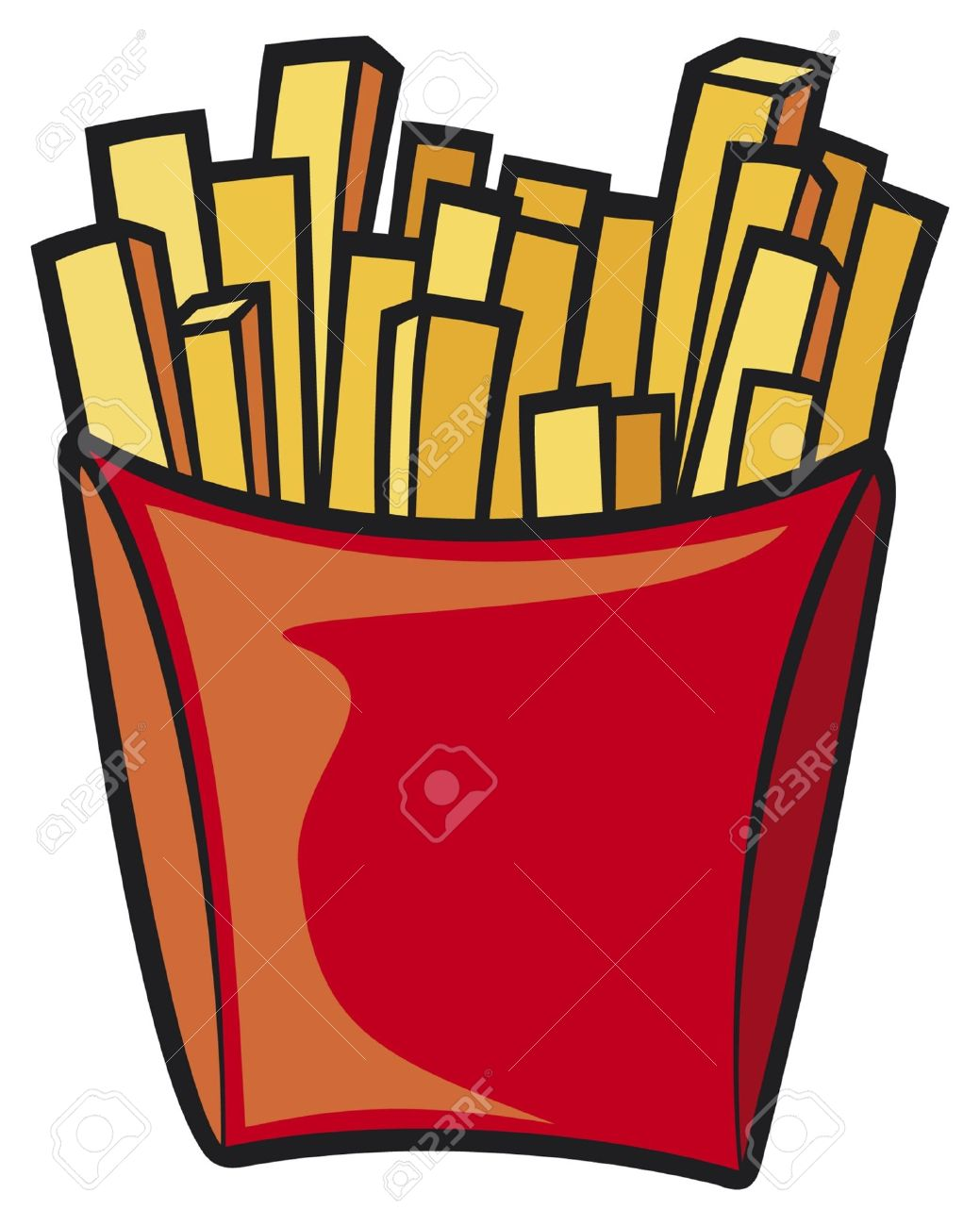 Collection of Chips clipart.