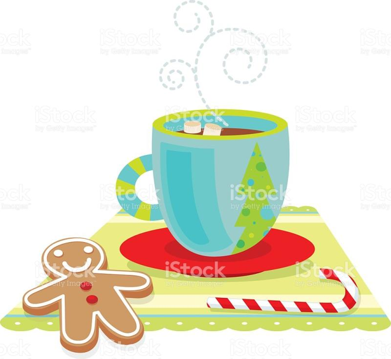 Hot Cocoa And Cookies Clipart.