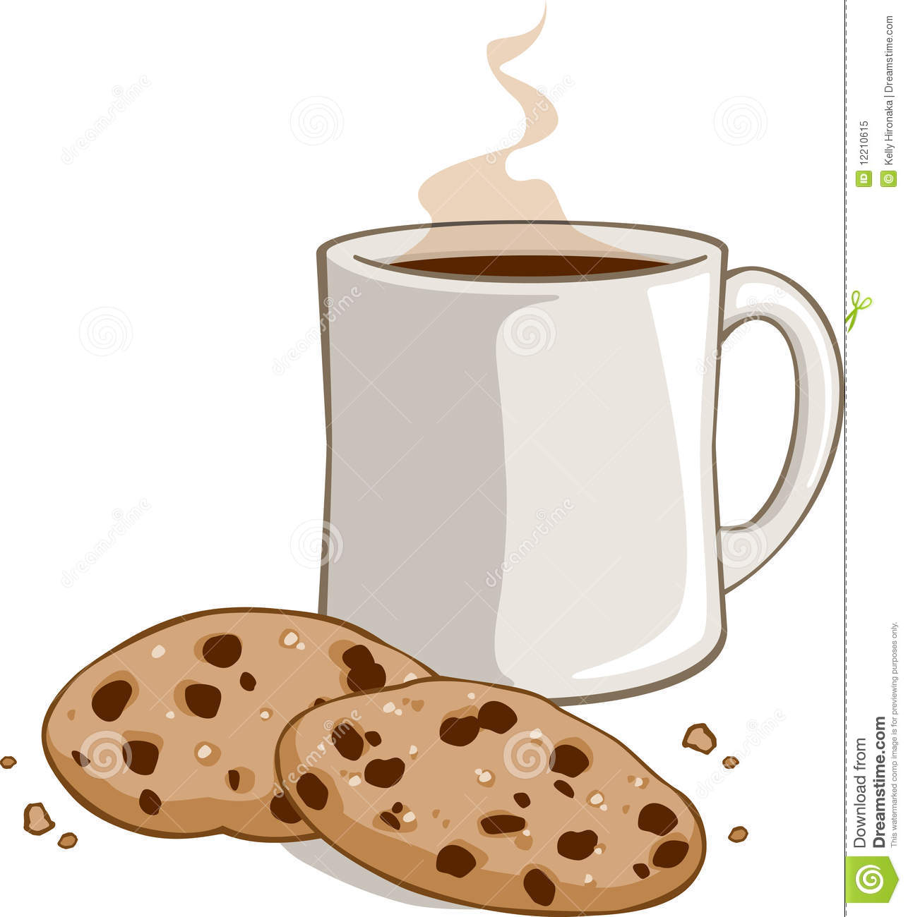 Cookies And Hot Chocolate Clipart.