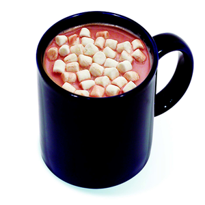 Hot Chocolate With Marshmallows Clipart.