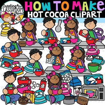How to Make Hot Chocolate Clipart {Hot Chocolate Clipart}.