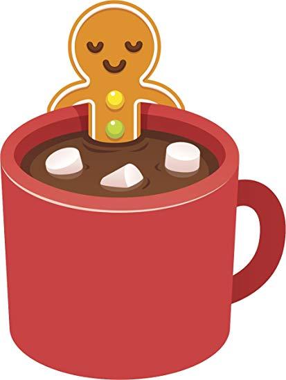 Amazon.com: Gingerbread Man in Hot Cocoa Jacuzzi Mug Cartoon.