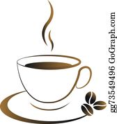 Hot Coffee Clip Art.