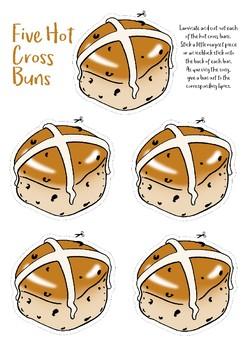 5 Hot Cross Buns.