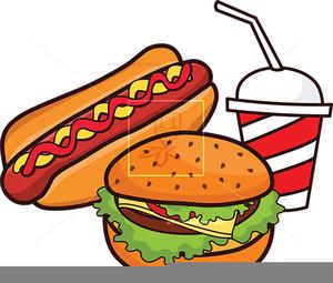 Hotdog And Soda Clipart.