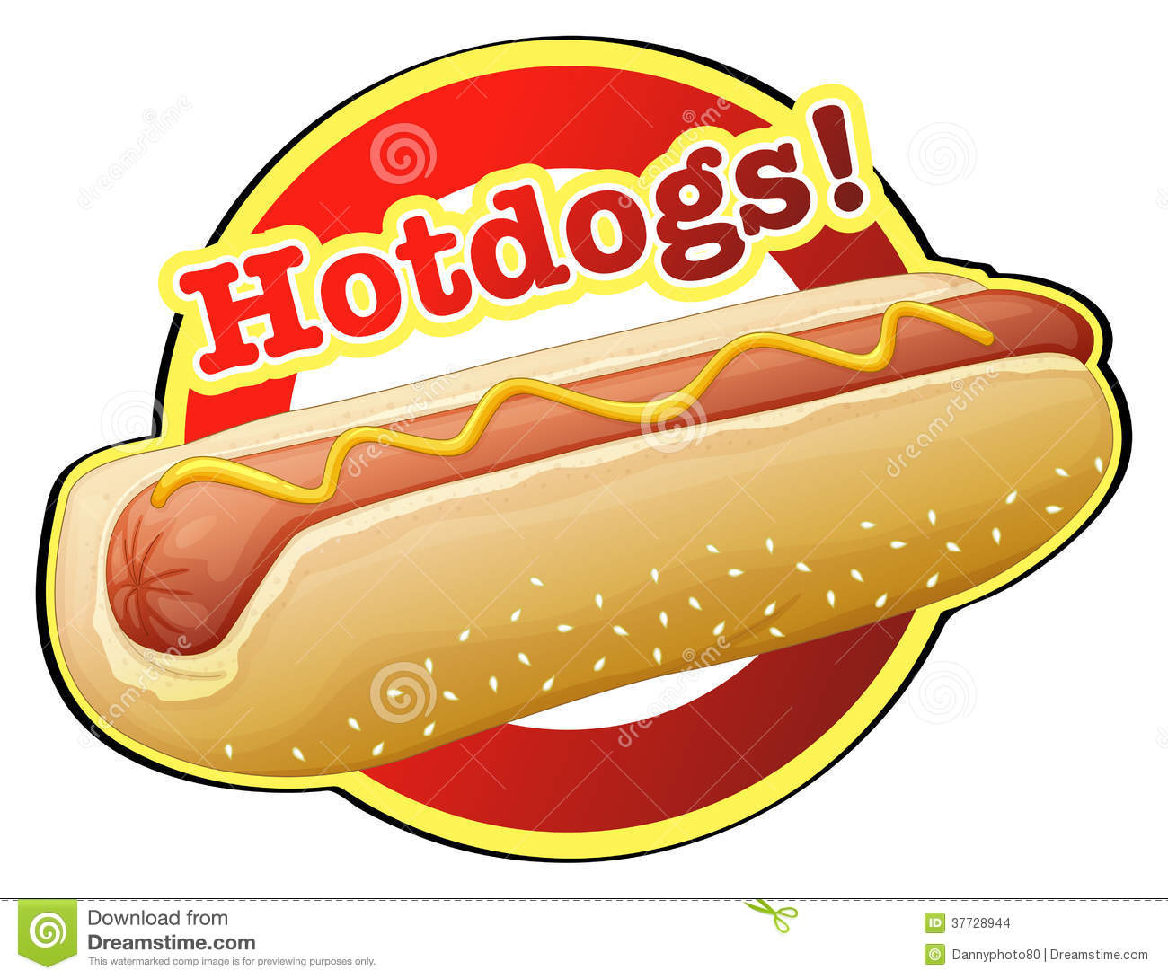 Cartoon Hotdog Clip Art Stock Photos, Images, & Pictures.