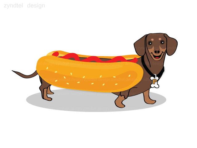 Free Cartoon Hot Dog, Download Free Clip Art, Free Clip Art.