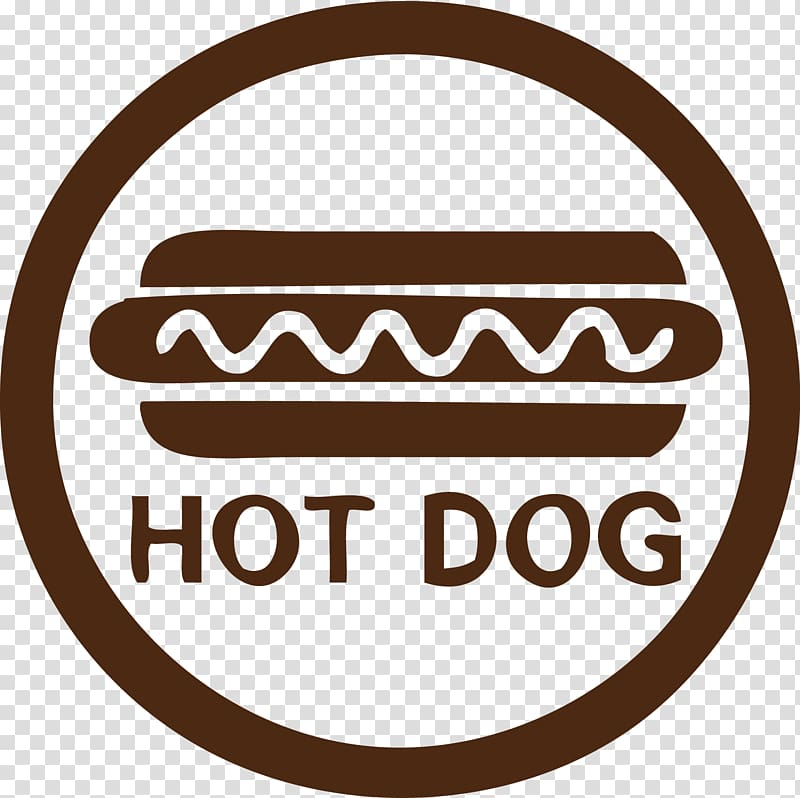 Brown hot dog logo, Hot dog Euclidean , Hot Dog HOT,DOG AI.