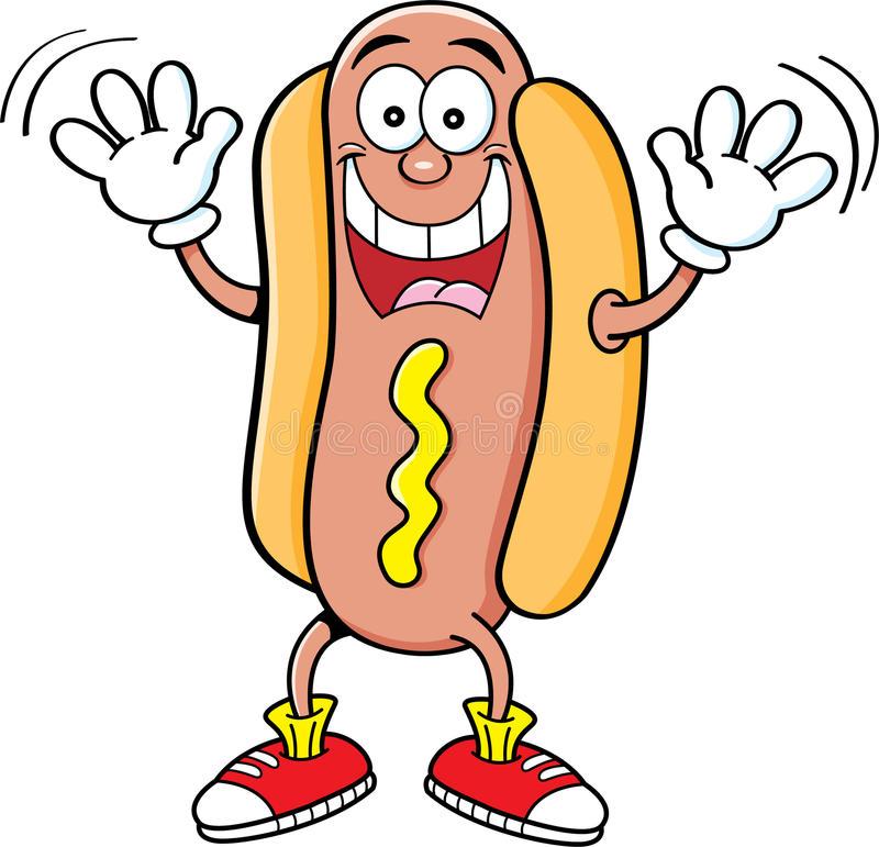 Hotdog Stock Illustrations.