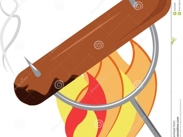 Bonfire clipart weiner roast, Bonfire weiner roast.
