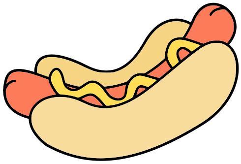 Hotdog Clipart.
