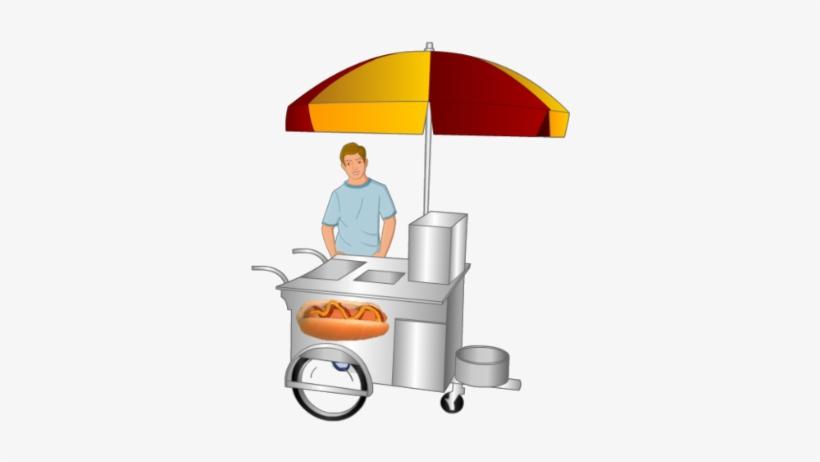 Hotdog Cart.