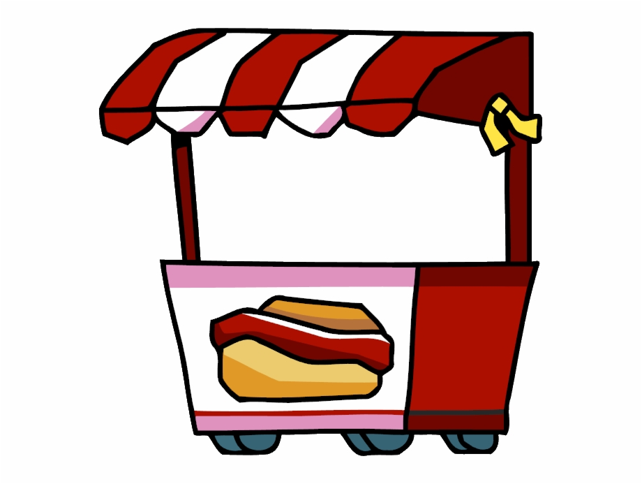 Hotdog Stand Png Clipart.