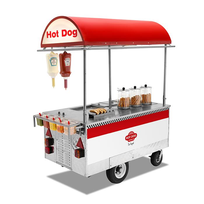 New York Hot Dog Card.