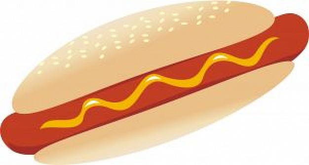 Hot Dogs Clipart.