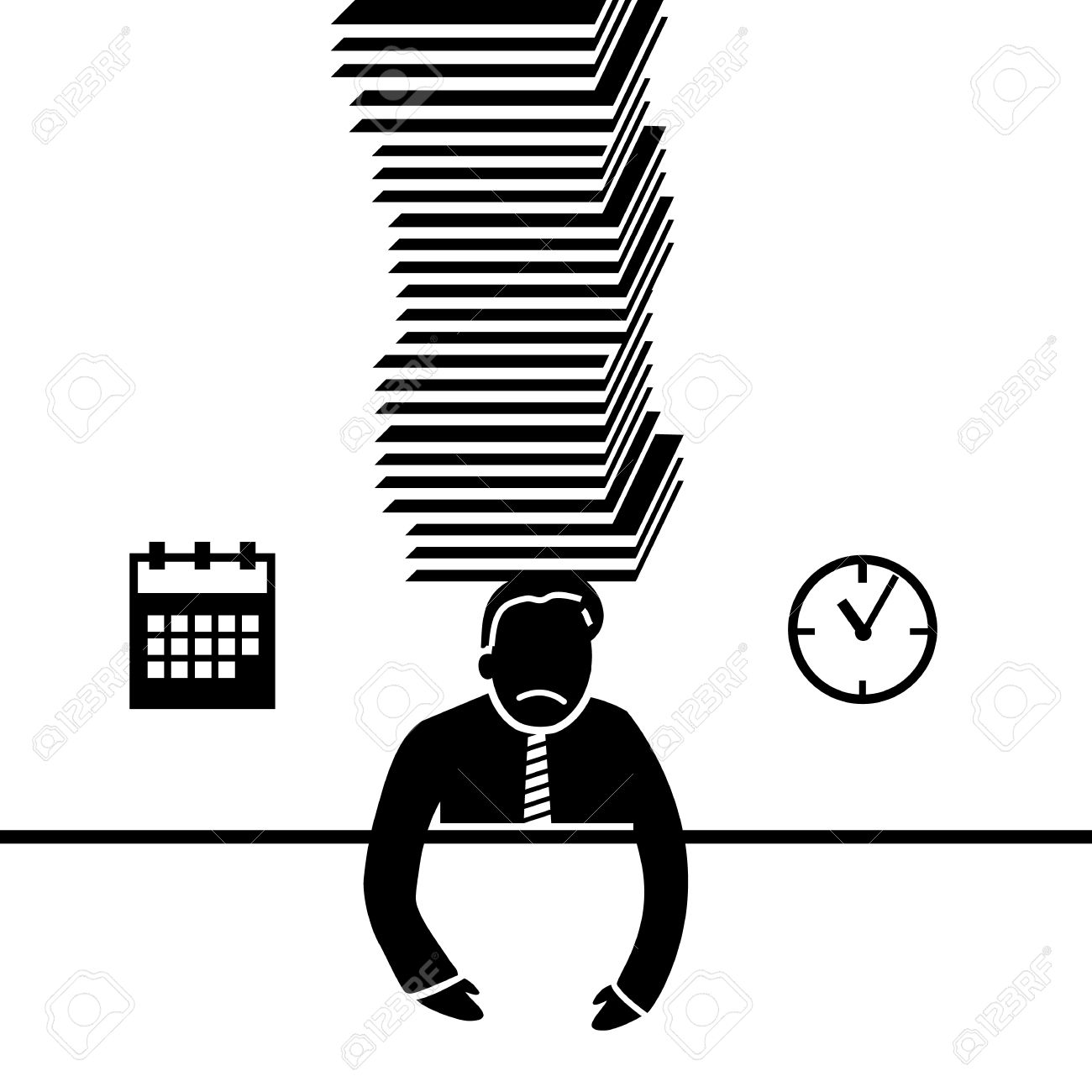 Under Pressure Clip Art for Businesses.
