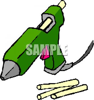 Glue Stick Clipart.