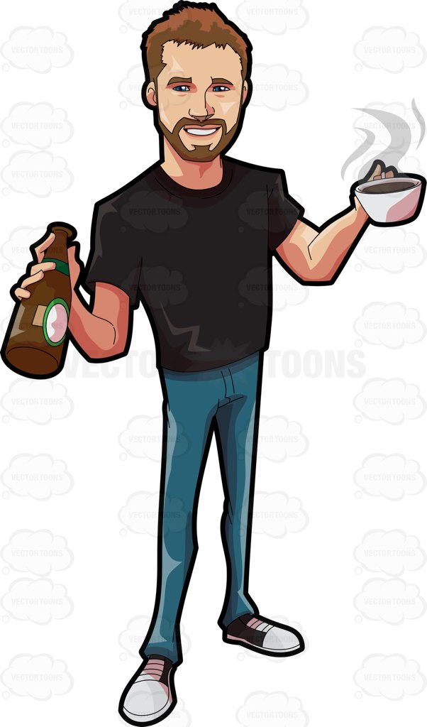 Cool Guy Clipart.