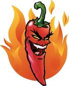 Hot Pepper Clip Art.