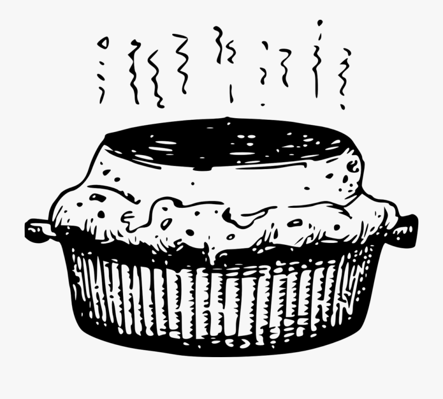 Pie Black And White Free Clipart Hot Pie Food.