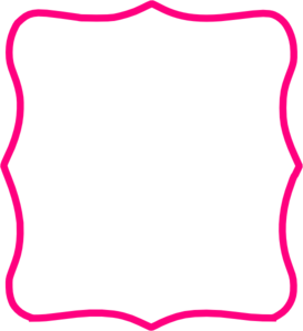 Hot Pink Frame Clip Art at Clker.com.