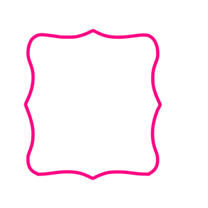 Hot Pink Frame clipart, cliparts of Hot Pink Frame free.