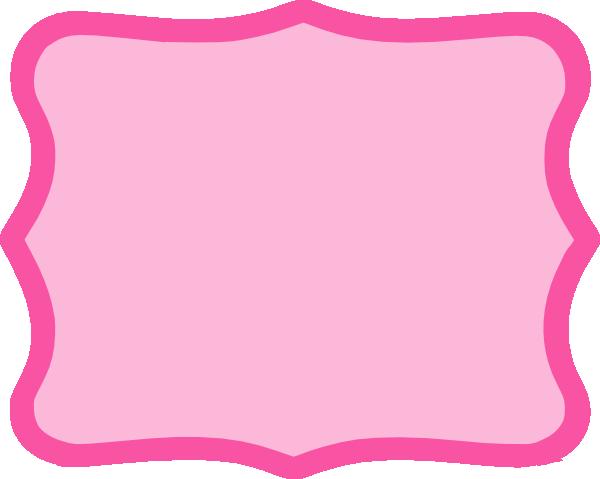 Hot Pink Frame Clip Art at Clker.com.