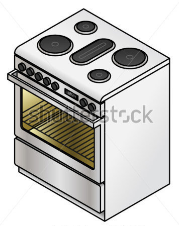 Gallery For > Stove Burner Clipart Side View.