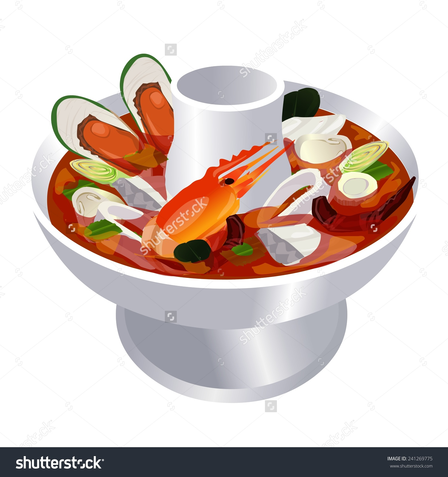 Soup Kitchen Clipart