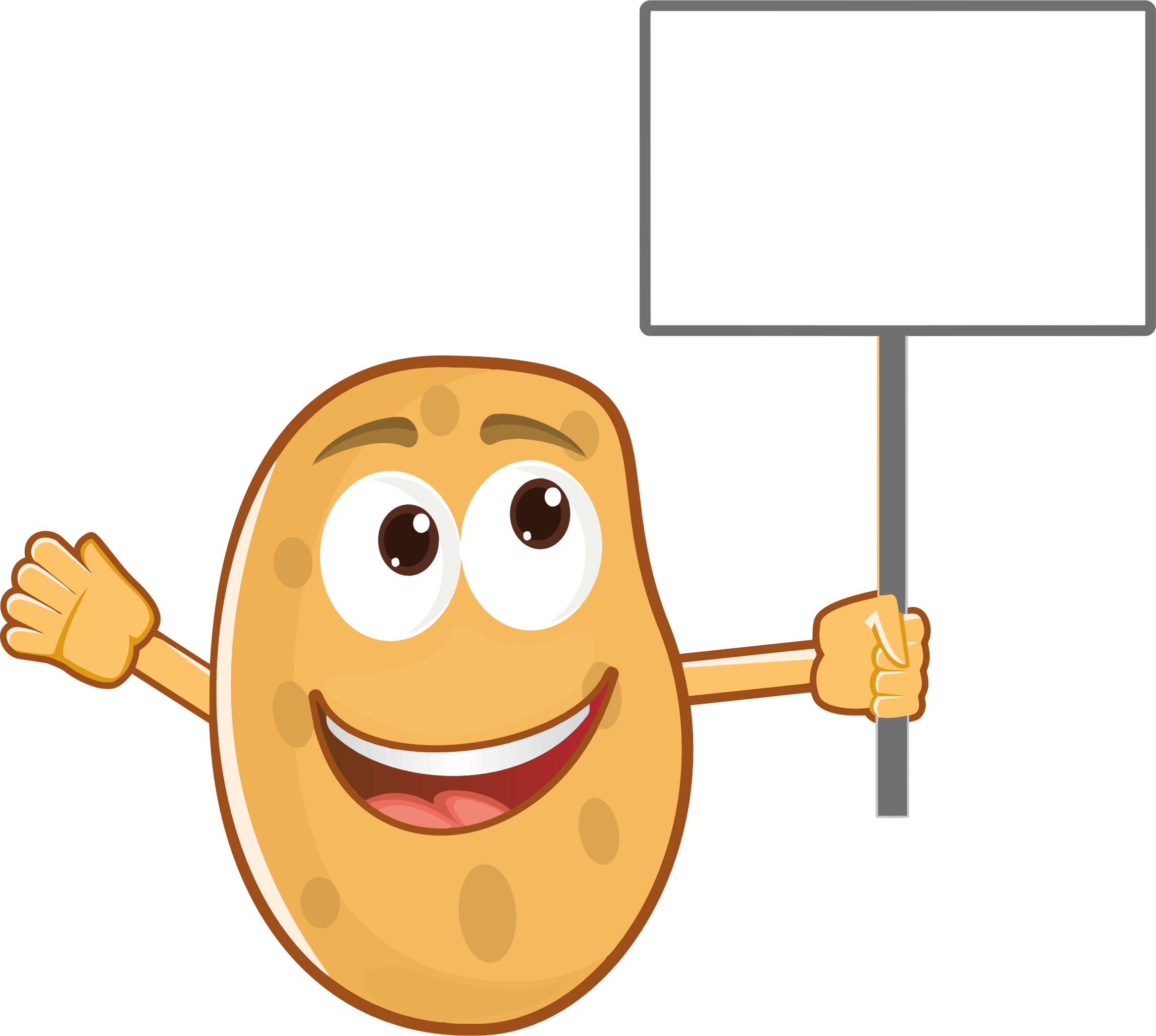Mr clipart hot potato, Mr hot potato Transparent FREE for.
