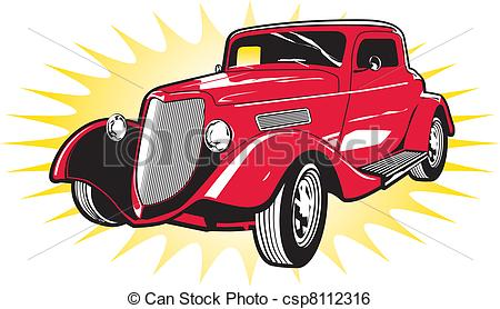 Street rod Clip Art and Stock Illustrations. 378 Street rod EPS.