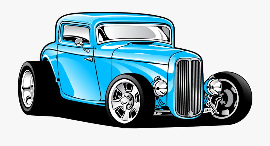 1932 Ford Car Hot Rod Clip Art.