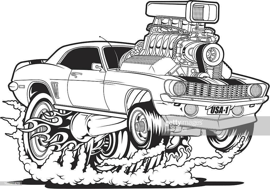 60 Top Hot Rod Car Stock Illustrations, Clip art, Cartoons, & Icons.