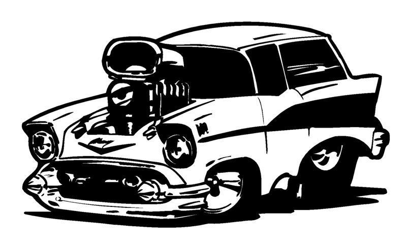 Pics Photos Cartoon Deuce Hot Rod Clipart Graphic.