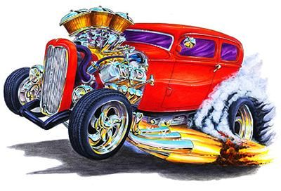 Free Muscle Car Hot Rod Drawings, Download Free Clip Art.
