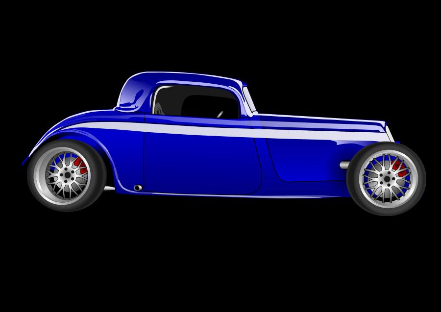 Hot Rod SVG Vector file, vector clip art svg file.