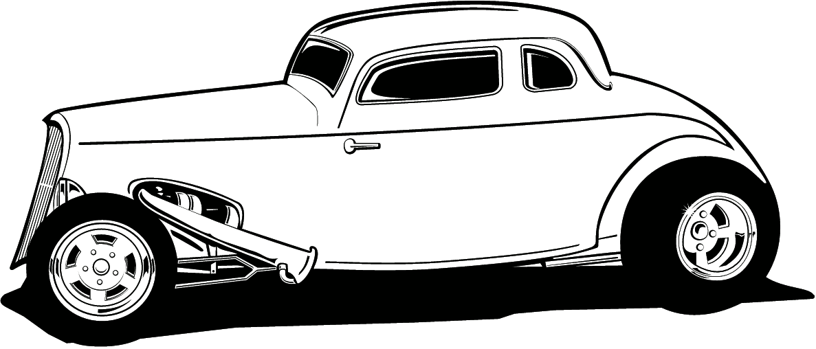Hot Rod Clip Art Free #Hotrodsclassiccars.