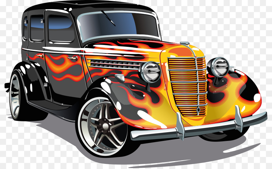 Car Vector graphics Hot rod Clip art Royalty.
