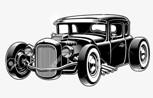 Free Hot Rod Clip Art with No Background.