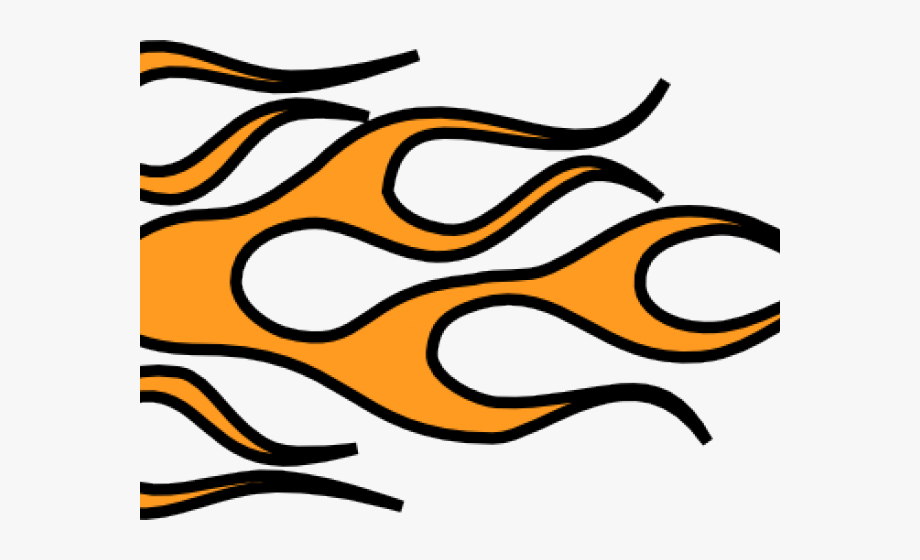 Fire Flames Clipart Drawn.