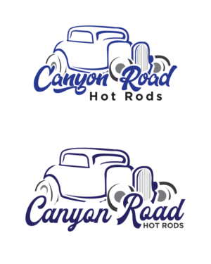 Hot Rod Logo Designs.
