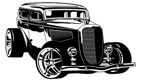Hot rod PNG Images.