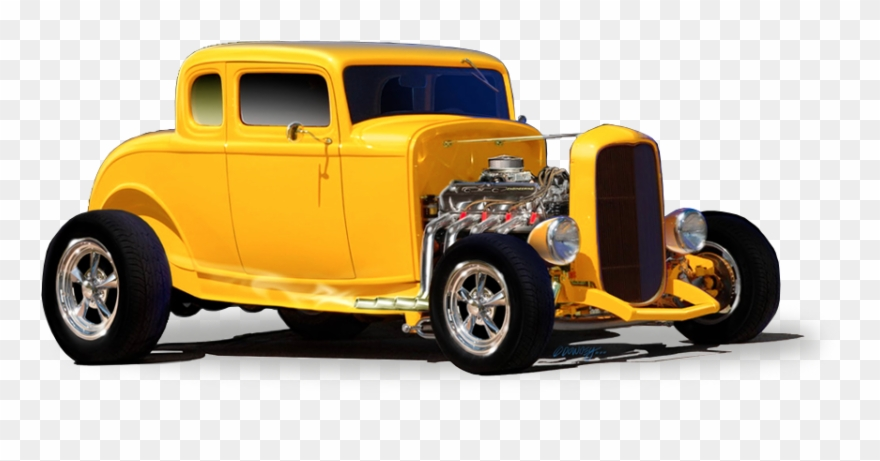 Hot Rod Png.