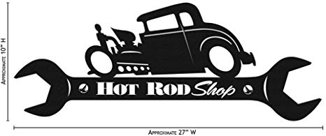 Amazon.com: Farrell HOT Rod Shop Wrench Simple Silhouette.