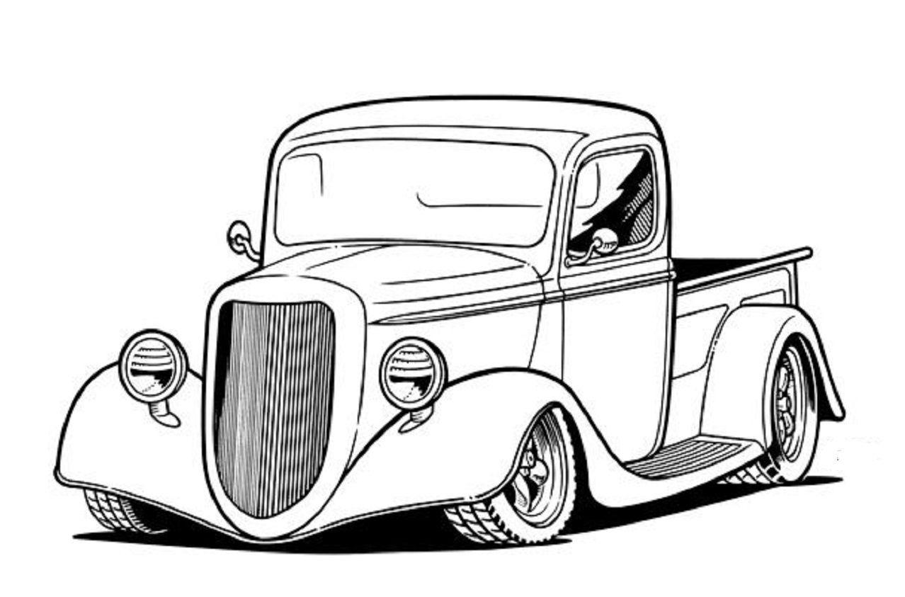 36 Chevy rat rod truck.